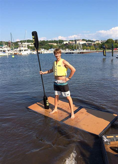 cardboard boat race - Cardboard Boat Paddles
