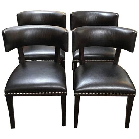 Set Of Four Ralph Lauren Clivedon Dining Chairs For Sale Ralph Dining Chairs