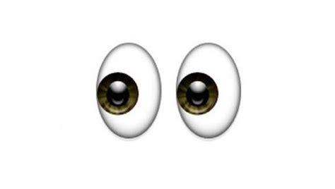 imagenes para wasap de ojos el emoticono emoji que corresponde a cada uno de estos