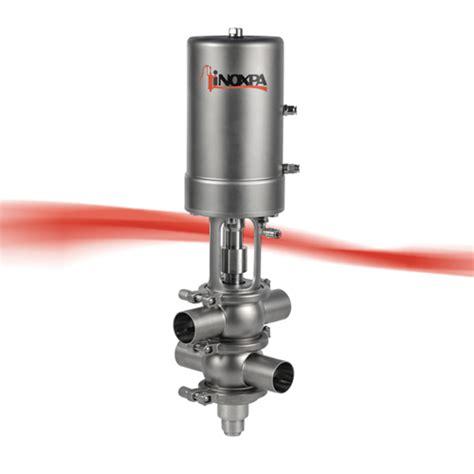 peek seat valve shut seat valve innova p seat valves inoxpa