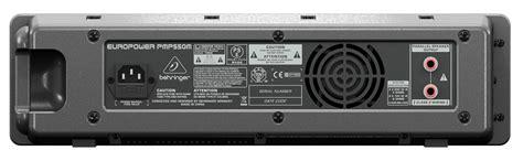 Behringer Pmp550m 500 Watt 5 Channel Power Mixer With Wireless Option behringer pmp 550m 5925567