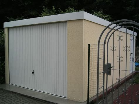 garagen nebent r fertiggarage 3 50x 5 95 x2 35m garagen fertiggaragen 1a ebay