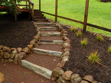 how to make hillside railroad tie landscape stairs steep hill landscaping steps iimajackrussell garages