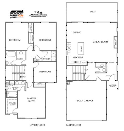 landmark homes floor plans house plans