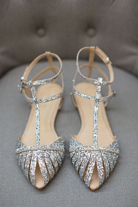 wedding shoes flats sparkle sparkle flats diana elizabeth