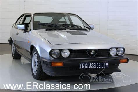 Alfa Romeo Gtv6 by Alfa Romeo Gtv6 Savali 1985 224 Vendre 224 Erclassics