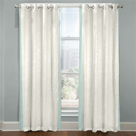 grommet valance curtains veratex central park grommet curtain panel atg stores