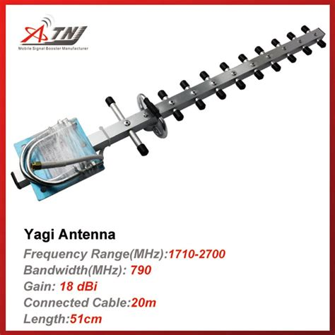 aliexpress buy high gain outdoor yagi antenna for dcs 3g 1700mhz 2200mhz mobile phone