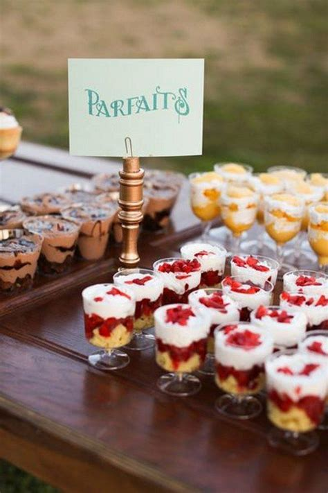 Top 20 Wedding Mini Desserts for 2019   Wedding Ideas