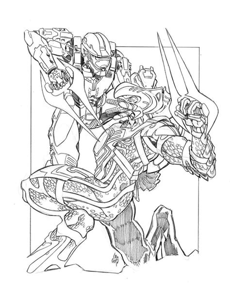 halo 5 coloring pages halo color pages coloring home