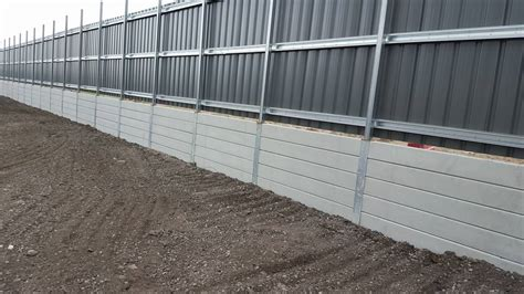 Concrete Sleeper Retaining Wall Installation by Smooth Concrete Sleepers Concrete Sleepers