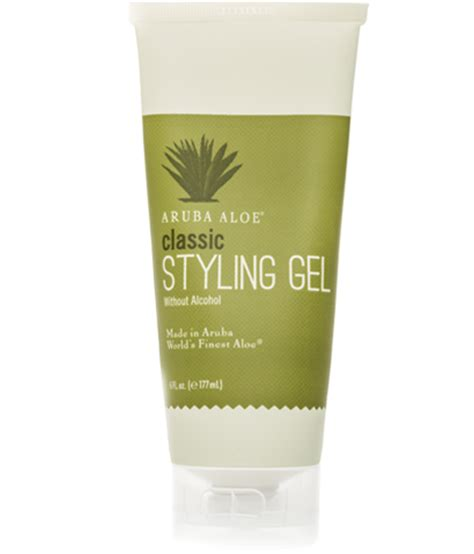 styling gel without alcohol classic styling gel without alcohol aruba aloe
