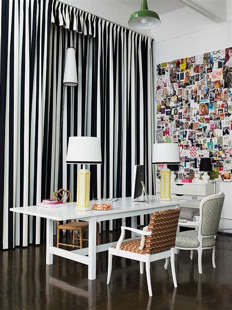 White And Black Striped Curtains Black Striped Curtains Curtains Blinds
