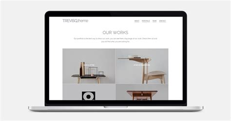 layout clean bootstrap treviso clean portfolio bootstrap template by mooz themes