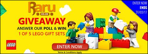 Lego Giveaway 2017 - poll enter our lego 174 poll we have 5 x lego 174 gift sets up for grabs end 31 march