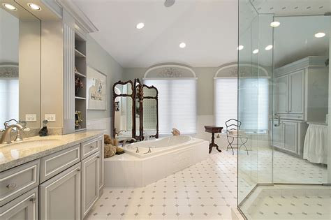 custom bathroom design choosing the right type of ceramic floor tile