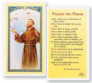 prayers  saint francis  assisi patron saint