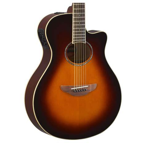 Yamaha Apx600 yamaha apx600 electro acoustic violin sunburst at