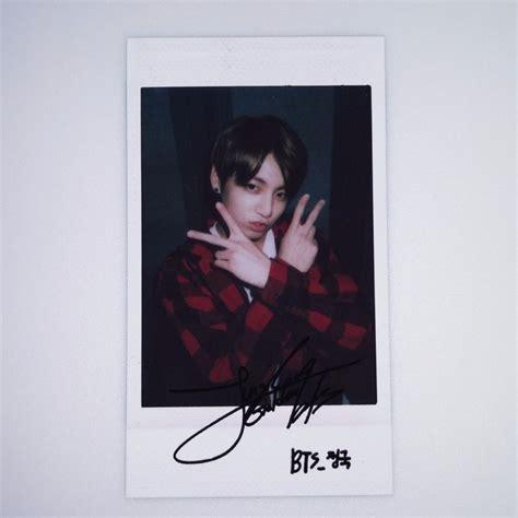 Polaroid Bts bts bangtan boys fancafe dope jungkook paper polaroid photocard cd dvd kpop suga all about