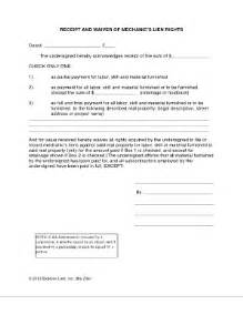 receipt waiver fill online printable fillable blank