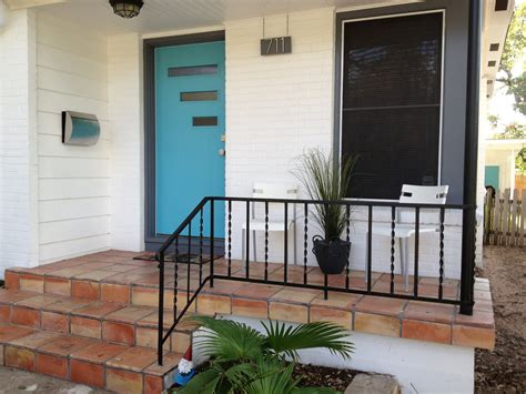 Ranch Style Trim Mad For Mid Century Our Atomic Ranch Front Porch Through