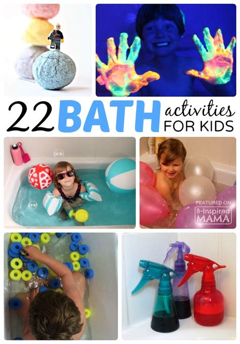 22 kids activities to make bath time more fun sponsored