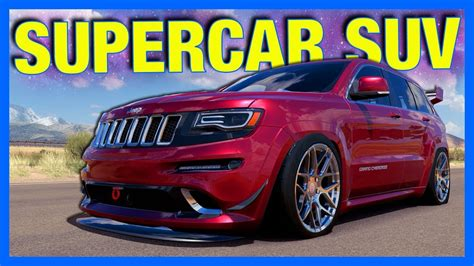 supercar suv forza horizon 3 the supercar suv let s fail
