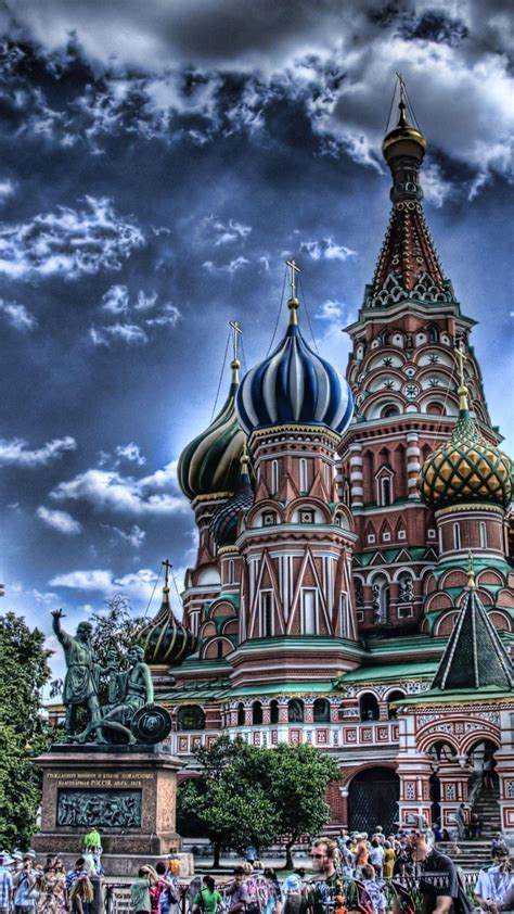 moscow red square russia cathedrals cityscapes wallpaper