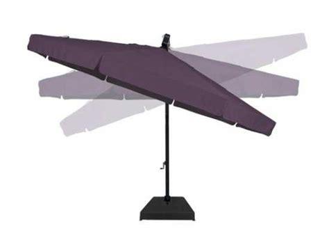 13 foot patio umbrella treasure garden cantilever 13 foot wide crank lift tilt