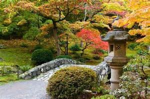 Natural Backyard Landscaping Autumn In A Japanese Garden Photograph By Denise Lett