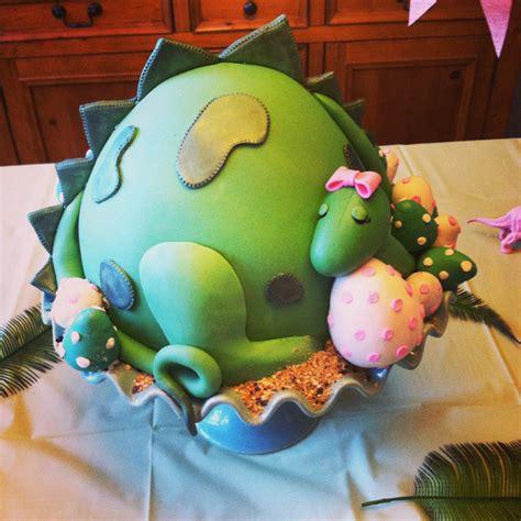 dinosaur baby shower cake let them eat cake