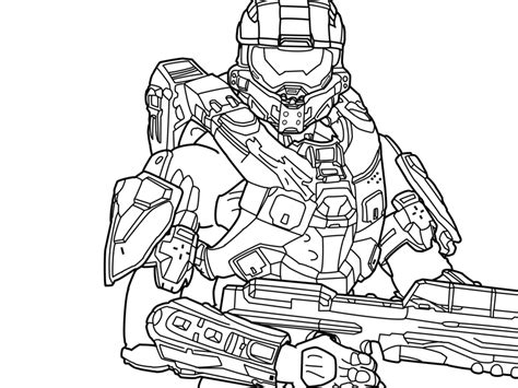 Halo Coloring Pages Printable Color On Pages Coloring Spartan Coloring Pages