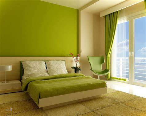 interior furniture cool green and beige color wall asian paints wood glass modern design