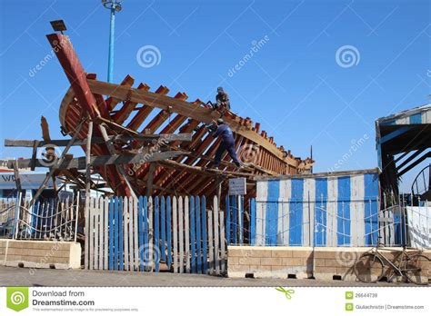 fishing boat construction fishing boat construction editorial stock image image of