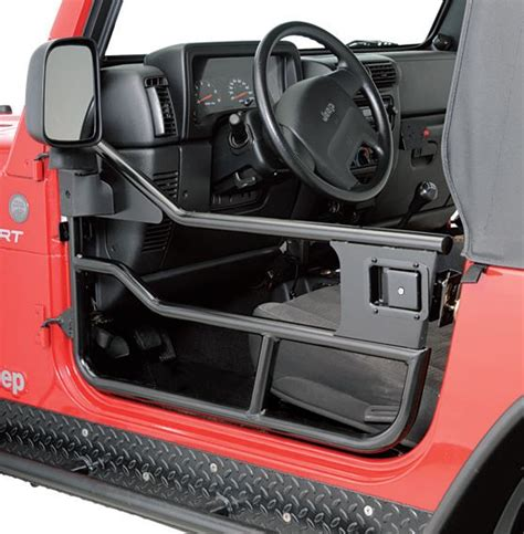 How To Take Doors A Jeep Wrangler by Highrock 4x4 Element Doors Mirrors For 97 06 Jeep
