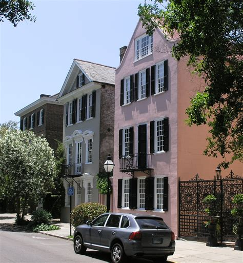 Housing In Charleston Sc by File Colorful Homes In Charleston Sc Jpg Wikimedia Commons