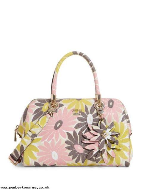 Jordyn Series Guess Satchel Bag guess floral multi jordyn floral printed satchel