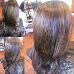 hair with copper lowlights blonde hair with copper lowlights dark brown hairs