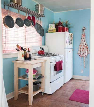 como decorar  organizar una cocina pequena mil ideas
