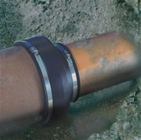 how do install a line cleanout in clay pipe pipe