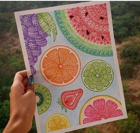 Imagenes De Mandalas Brillantes | mandalas con frutas art pinterest mandalas y fruta