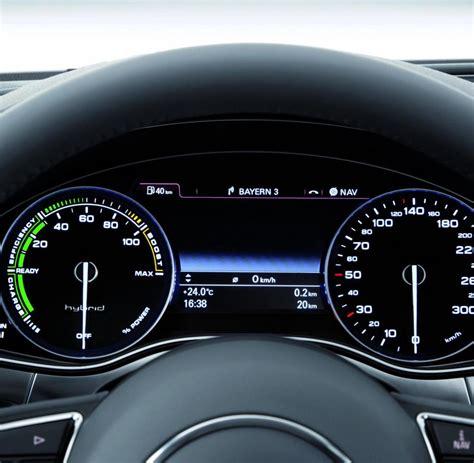 audi a6 hybrid testserie autoquartett der a6 hybrid zieht den k 252 rzeren