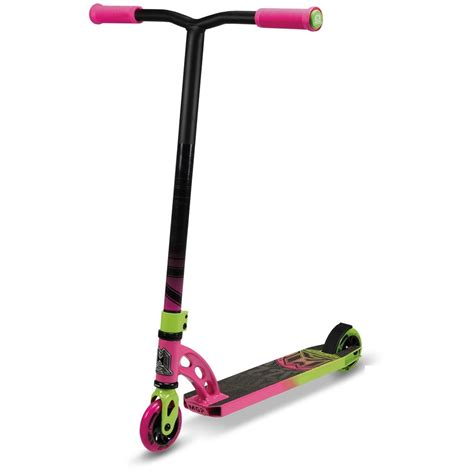 mad scooter madd gear mgp vx6 pro scooter purple lime vx6 pro scooters slick willies