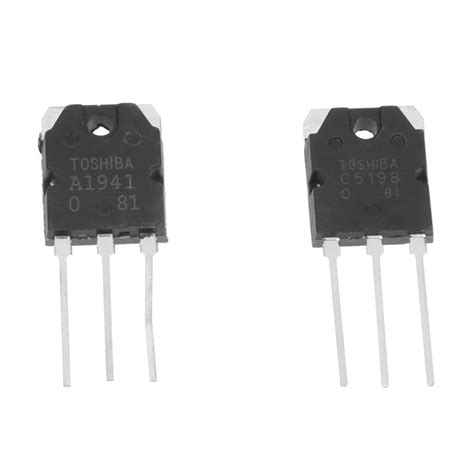 power transistor a1941 pair a1941 c5198 10a 200v power lifier silicon transistor k4k2 ebay