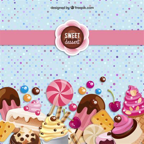 rosa caramelo sweet fondo de postre dulce descargar vectores gratis