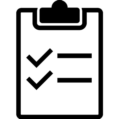 Background Check Icon Clipboard Variant With Lists And Checks Free Interface Icons
