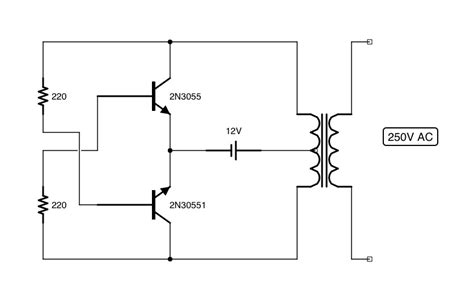 ac to dc converter schematic diagram shadi soundation simple dc to ac converter inverter