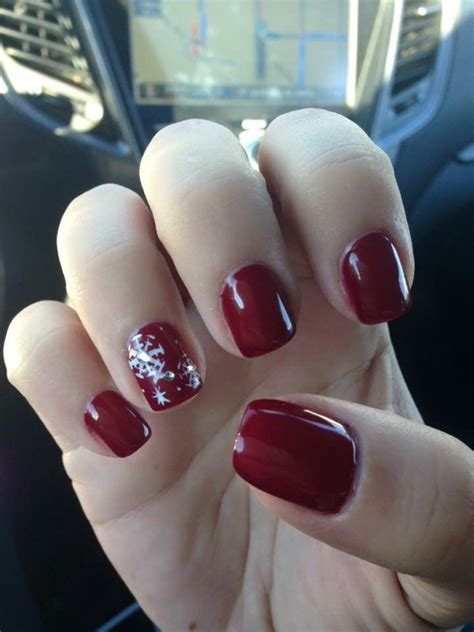 ideas  snow nails  pinterest winter nail