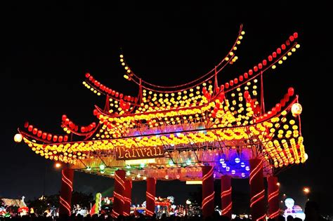 spending new year in taiwan taiwan lantern festival 2017 of dazzling light displays