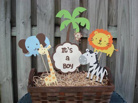 safari themed decorations for baby shower items similar to jungle birthday centerpiece safari